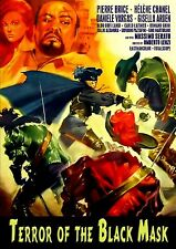 Terror of the Black Mask (1963) (DVD) (Widescreen) (aka Invincible Masked Rider)