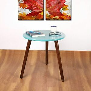 ROUND SHAPE WOODEN END TABLE / BEDSIDE TABLE / COFFEE TABLE FOR LIVING ROOM