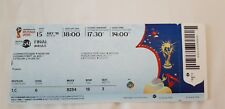 WORLD CUP 2018 TICKET FINAL JULY15th  USED  ONE TICKET GAME 64 MOSCOW LUZHNIK