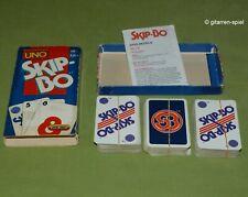Skip-Bo Kartenspiel - Komplett - Blau Rote Ausgabe von UNO Mattel ©1997 rar