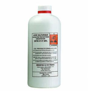 Acide batterie 1l - NEUF