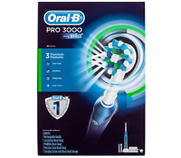 BRAUN ORAL B PRO 3000 ELECTRIC TOOTHBRUSH Rechargeable Electric Toothbrush Kit