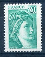France 1980 20c Marianne defin stamp mint