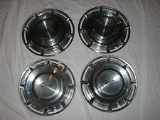 1960 Chevrolet Impala 14 inch Wheel Covers / Hubcaps .. Made in USA