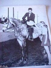 Arabian HORSE SHOW 1971 Colfax, Washington  Jeff Shaba  Horse AHABBI Photo