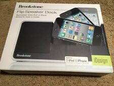 Brookstone Flip Speaker Doc for iPhone and iPod