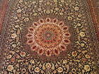"""6'6"""" x 10' Gorgeous 100% Silk Signed Hand Knotted Oriental Rug Premium Quality"""