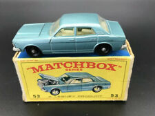 Matchbox Lesney 53 Ford Zodiac - N Mint In Good Box