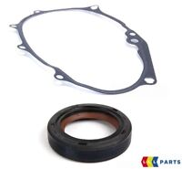 NEW GENUINE AUDI VOLKSWAGEN CAMSHAFT OIL SEAL AND TIMING COVER GASKET PAIR SET