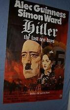 Original HITLER THE LAST TEN DAYS Rare British 1 sheet
