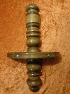 Holz Wand Konsole / Wandkonsole - Antik-Stil - Länge ca. 49,5 cm