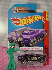 Case P 2015 i Hot Wheels '69 CHEVELLE #140∞Trans Purple Chevy; oh5; 55∞X-Raycer
