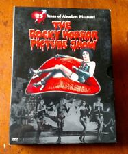 THE ROCKY HORROR PICTURE SHOW 25TH ANNIVERSARY DVD 2 DISC