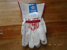 NORTH STAR WHITE OX 1015 Gauntlet Gloves 1 pair LARGE made in the U.S.A.