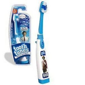 "Tooth Tunes Battery Powered Toothbrush - Napoleon Dynamite, ""Canned Heat"""