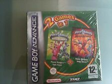 POWER RANGERS TIME FORCE & NINJA STORM - 2 IN 1 - GBA NUOVO - GAME BOY