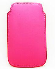 Funda para Telefono Movil iPhone 4G 3G 3Gs Color Verde Calidad Cosida 913fucsia