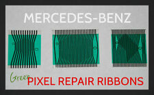 MERCEDES BENZ W202 C220 C230 C280 INSTRUMENT CLUSTER PIXEL REPAIR RIBBON CABLES
