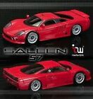 IWAVER 1:28 6 7/12ft Ford Saleen S7 Red on-Road Car Electric Brushed 2WD Rtr