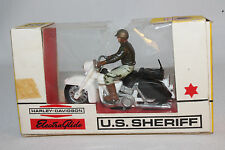 1970's Britains #9692, U.S. Sheriff on Harley Davidson Motorcycle, Boxed