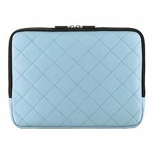 """Blue Padded Tablet Sleeve Cover Carrying Case For iPad Pro 9.7""""/ iPad Air 2"""