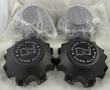Black Rhino Wheels Flat Black Custom Wheel Center Cap Set of Four # C805501-CAP