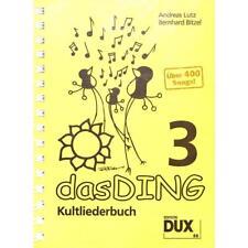 Das Ding Band 3 über 400 Songs Songbook Dux Verlag Lutz / Bitzel