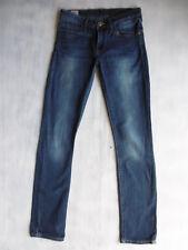 Lee Jade skinny aged blue Denim stretch Jeans Hose Gr 34 W26/L33 1AZust. $392