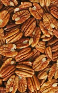 Fresh PECANS Jr Mammoth RAW Halves & Large Pieces Shelled Choose Bulk Nuts