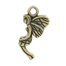 Paquet 10 x Steampunk Antique Bronze Tibétain 19 mm Angel Charm/Pendentif ZX12025