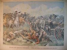 TRANSVAAL TWEEBOSCH DEFAITE ANGLAISE CRIME HYERES JOURNAL LE PETIT PARISIEN 1902