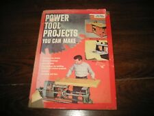 """VTG 1955 ARCO HANDY BOOK """"POWER TOOL PROJECTS YOU CAN MAKE"""""""