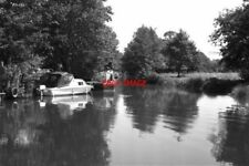 PHOTO  1978 SHALFORD SURREY RIVER WEY JUNCTION WITH WEY AND ARUN JUNCTION CANAL
