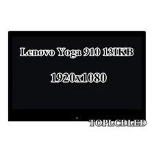 "13.9"" B139HAN03.2 Lenovo Yoga 910 13IKB 80VF LCD Screen Touch Digitizer Assembly"