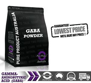 500gG  Gamma-Aminobutyric Acid 100% Pharmaceutical Grade powder GABA