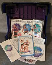 The Firm Body Sculpting Fanny Lifter Stepper System VHS w/all 8 Rubber Feet
