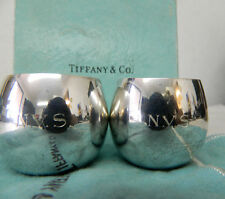 (2) Tiffany & Co Baby Cup Gift Silver Makers Sterling 25005 - Engraved 'N.V.S.'