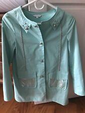 Little Marc Jacobs Aqua Jacket Size 12+ 14