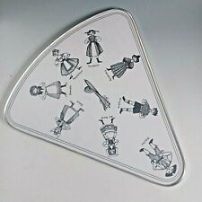 More details for 1960s vintage retro taunton vale cheese board cheese shape tray