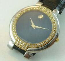 Movado Museum Diamond Men's Watch - Ref. 95-A2-890-IS - Beautiful Condition !