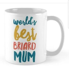 BRIARD GIFT MUG PRESENT FOR BREED LOVER