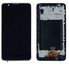 LG Stylo 2 LS775 Stylus 2 K540 LCD Display Touch Screen Digitizer + Frame Black