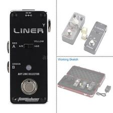 AROMA ALR-3 Liner Aby Line Selector Mini Electric Guitar Effect Pedal A9H2
