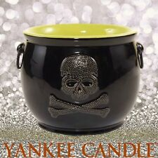 Yankee Candle RAVEN NIGHT SKULL CAULDRON Jar Holder ������ Halloween ������