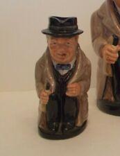 "Royal Doulton Winston Churchill D6172 Medium 5.5"" size Toby"
