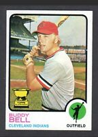 1973 Topps Buddy Bell #31 All-Star Rookie Baseball Card - Cleveland Indians