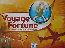 Jeu de société Voyage & Fortune - Le tour du Monde de la Connaissance Quasi Neuf