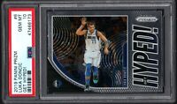 2019-20 Panini Prizm #6 LUKA DONCIC Get Hyped! PSA 10 GEM MINT