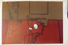 """""""Benjamin"""" lithographie pour Derrière le Miroir, Valerio Adami, 1973"""
