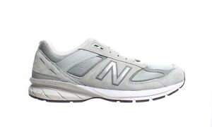 New Balance Mens M990gl5 Grey/Castlerock Running Shoes Size 14 (Narrow)